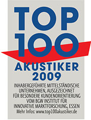 Audias Top 100 Akustiker 2009