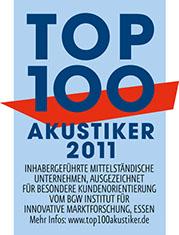 Audias ist Top 100 Akustiker 2011