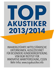 Audias Top 100 Akustiker 2013/2014