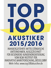 Audias ist Top 100 Akustiker in 2015/16