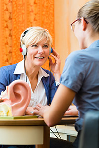Zweiter Schritt des Beratungskonzepts von Audias: Test des Hörvermögens