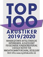 Audias ist Top 100 Akustiker 2019/2020 in Halberstadt
