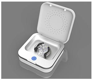 Trockenbox für Hörgeräte